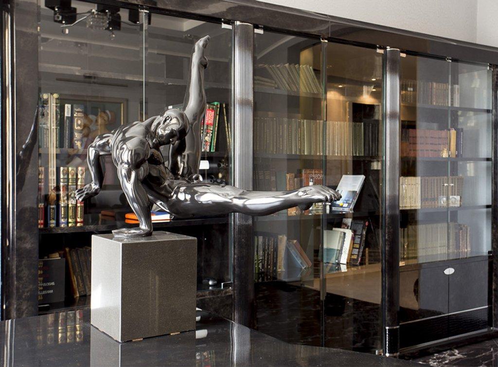 стиль ар-деко интерьер кабинета