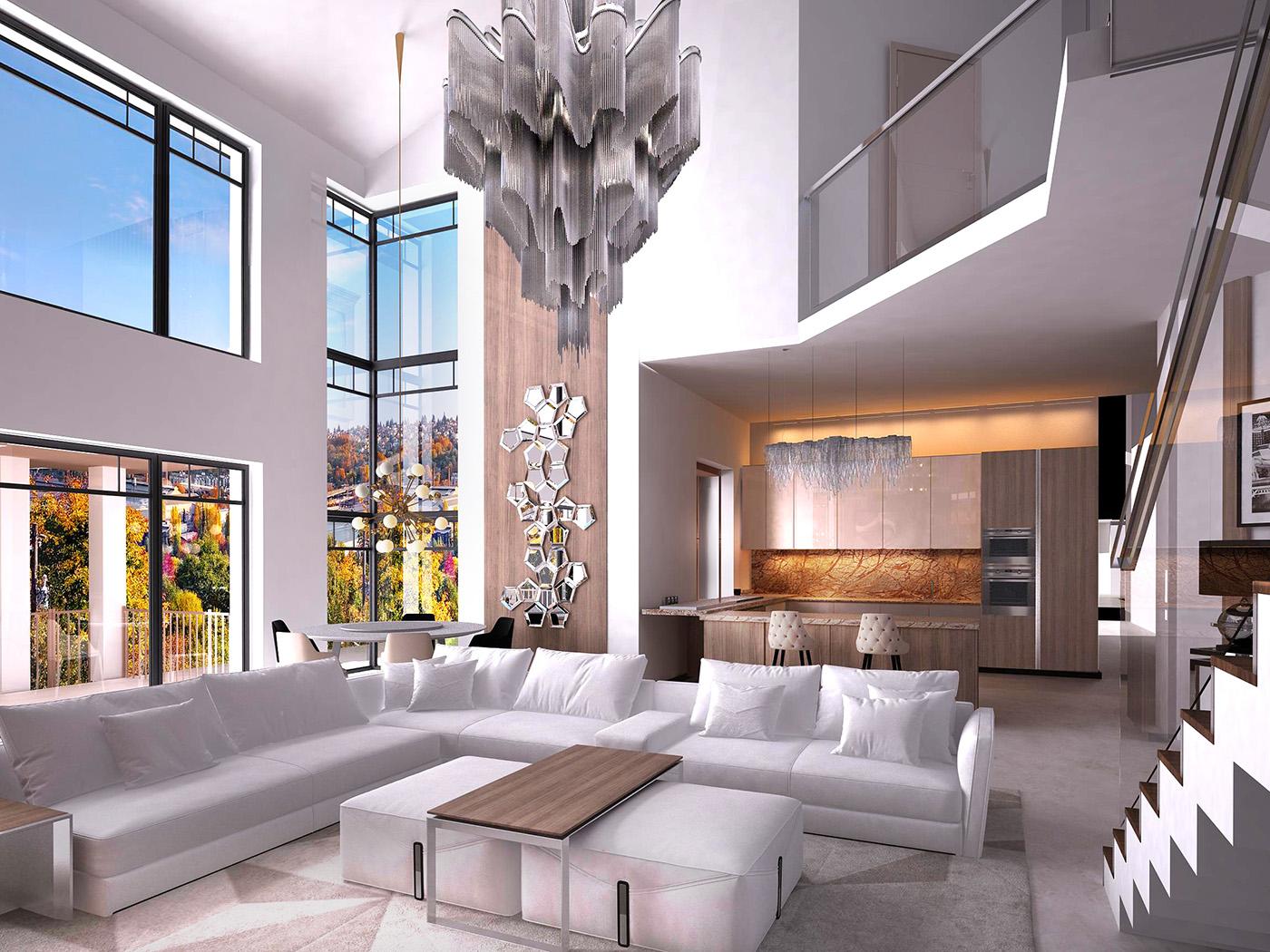 дизайн дома гостиная