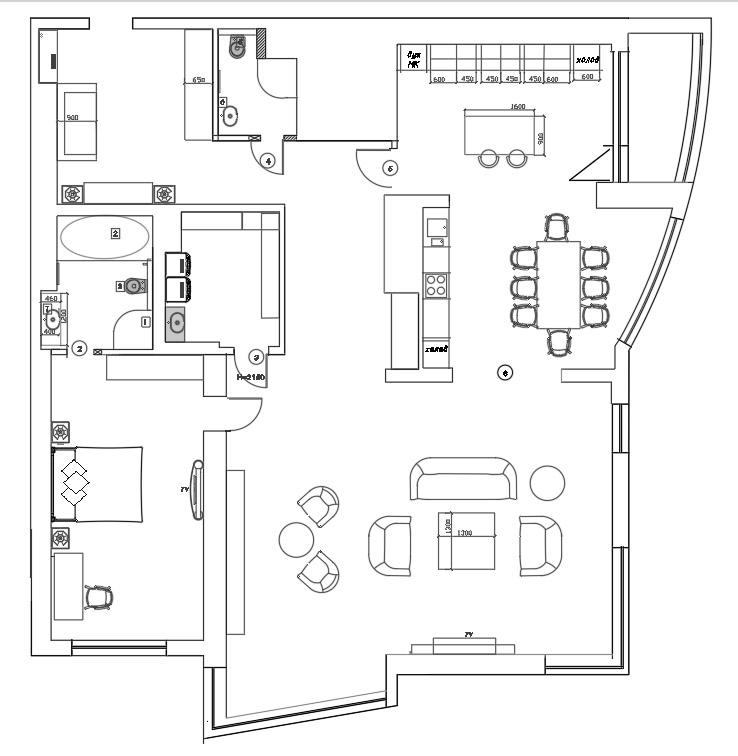 План квартиры ЖК Долина Сетунь