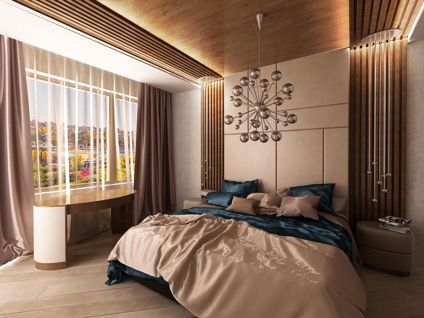 дизайн спальни в ЖК 1147