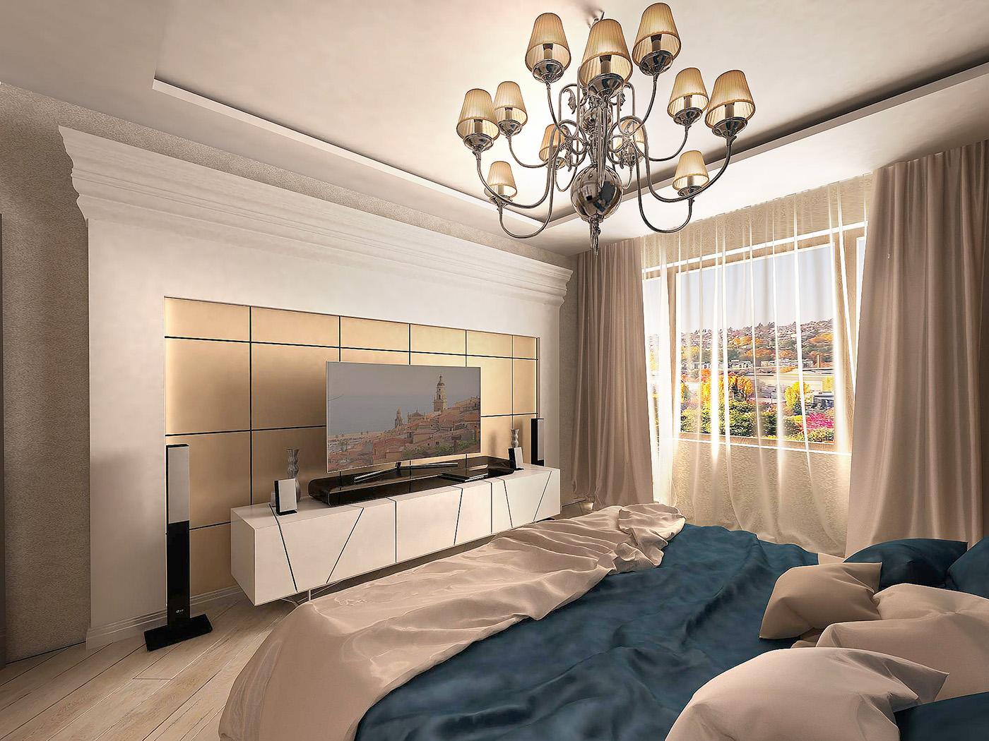 дизайн интерьера спальниi