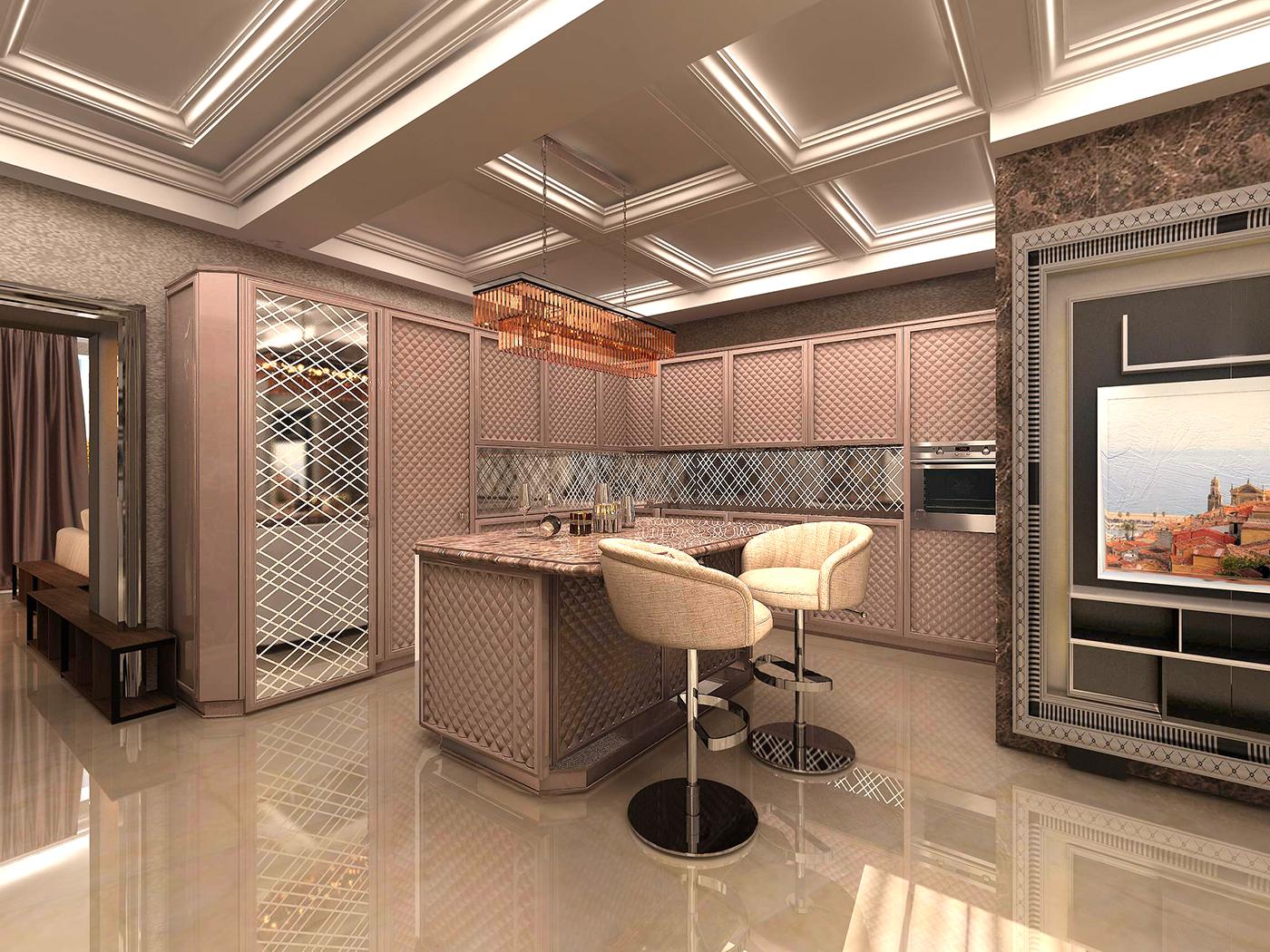дизайн кухни Scic