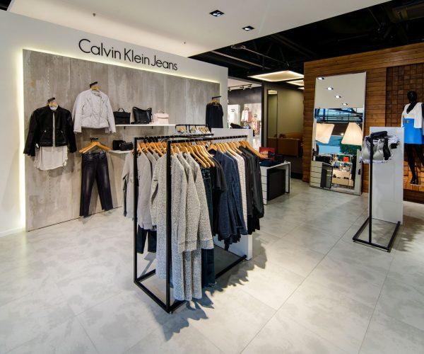 Дизайн магазина CalvinKlein