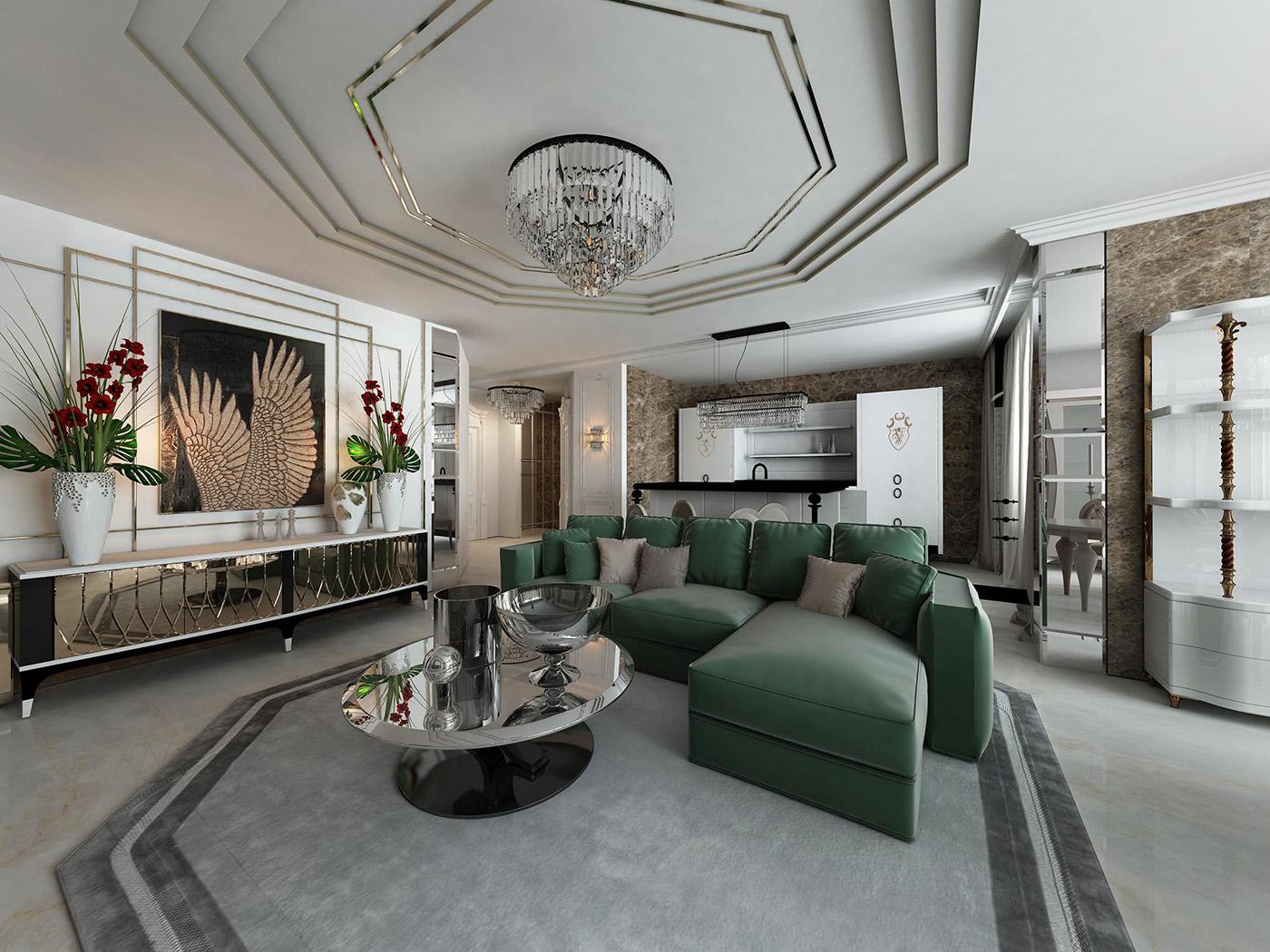 дизайн гостиной visionnaire